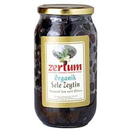 organik siyah sele zeytin 900gr zertum