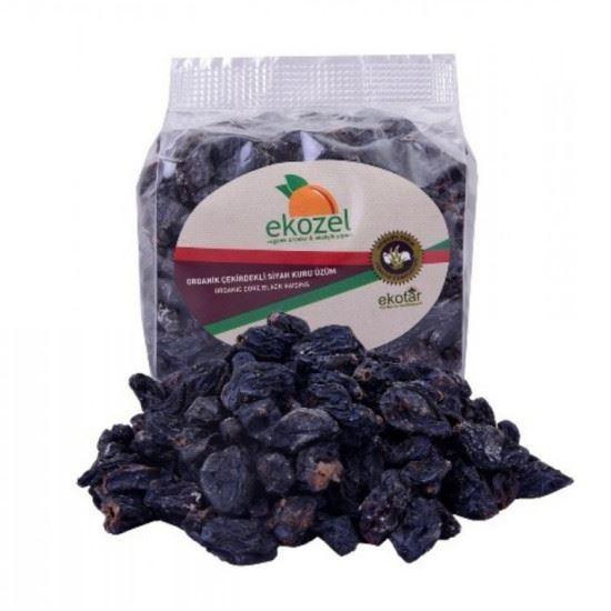 Ekozel organik çekirdekli kuru üzüm 250 gr
