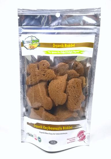 Organik Keçiboynuzlu Bisküvi 80 gr.